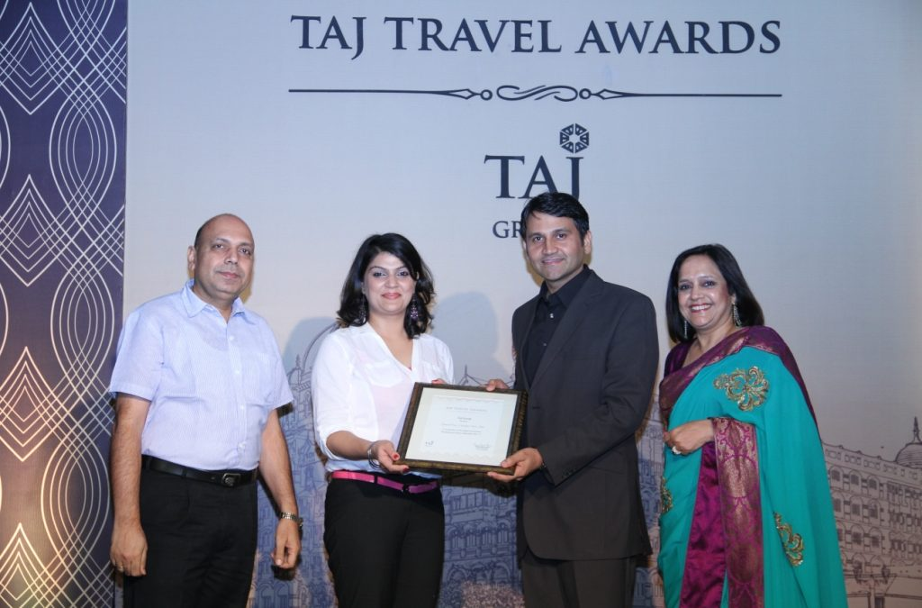 TAJ TRAVEL AWARD 2012