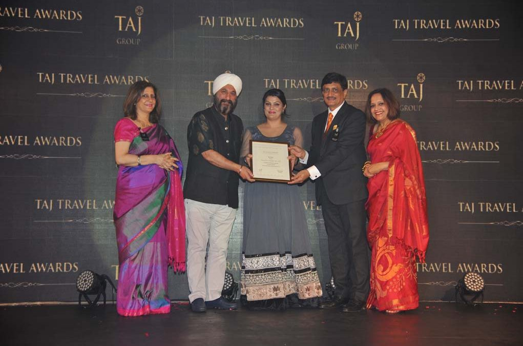 TAJ TRAVEL AWARD 2014
